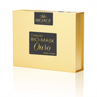 KIT BIO-MASK OURO COLLECTION