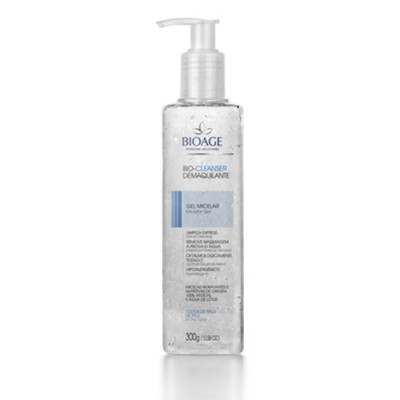 BIO-CLEANSER DEMAQUILANTE GEL MICELAR - 300ML