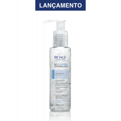 BIO-CLEANSER DEMAQUILANTE GEL MICELAR - 120ML