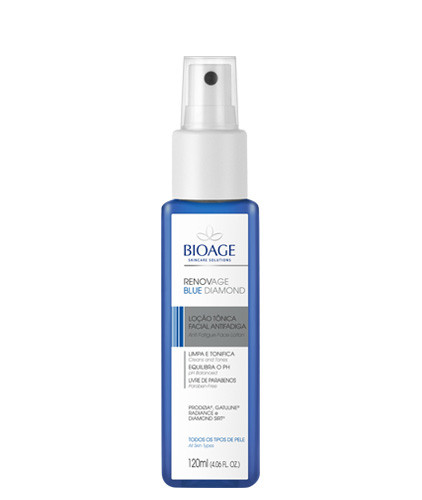 RENOVAGE BLUE DIAMOND LOÇÃO TÔNICA FACIAL ANTIFADIGA - 120ml